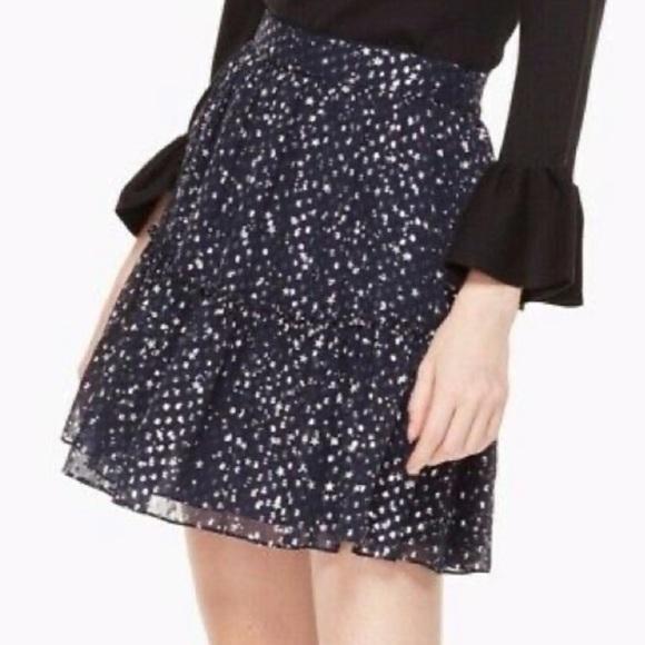 """kate spade Dresses & Skirts - Kate Spade """"Skirt The Rules"""" Navy Night Sky Skirt"""